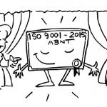 Somos certificados ISO 9001:2015 pela ABNT